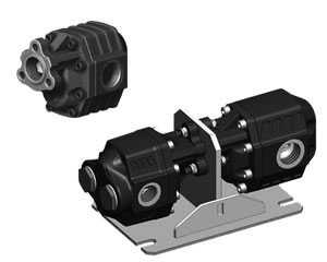 BI-DIRECTIONAL HYDRAULIC GEAR MOTORS